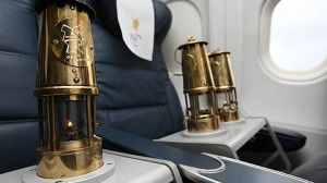 Business class olympic flame