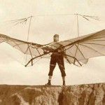 Otto Lilienthal - Early Hang Glider